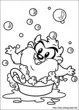 Coloring Pages Baby Looney Tunes. Coloring Pictures  Baby Looney Tunes Pages play game At yiyimovie com