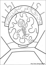 Chicken Little coloring pages on Coloring-Book.info.