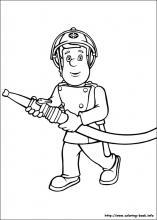 Coloring Pages Fireman Sam free games At yiyimoviecom