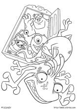 Coloring Pictures Monsters Inc