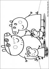 Coloring Pages Peppa Pig Free Games At Yiyimovie Com