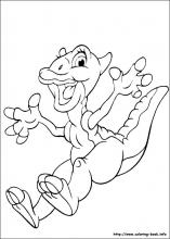 Coloring Pages The Land Before Time online games At yiyimoviecom